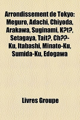 Arrondissement De Tokyo Livres Groupe