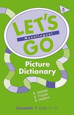 Lets Go Picture Dictionary, 2-Cassette Set: Monolingual Oxford University Press