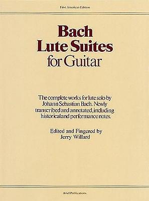 Lute Suites for Guitar  by  Johann Sebastian Bach
