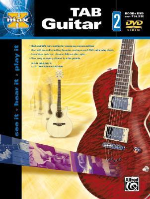 Alfreds Max Tab Guitar 2 [With DVD]  by  Alfred A. Knopf Publishing Company, Inc.