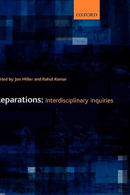 Reparations: Interdisciplinary Inquiries Rahul  Kumar