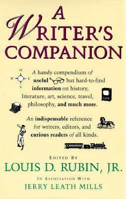 A Writers Companion Louis D. Rubin Jr.
