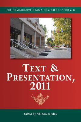 Text & Presentation Kiki Gounaridou