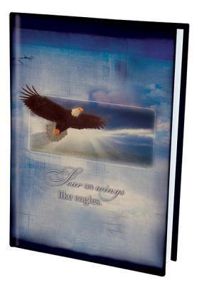 On Wings Like Eagles Canvas Journal  by  Christian Art Gifts
