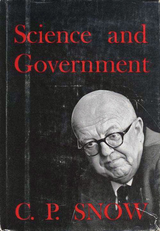 Science and Government C.P. Snow
