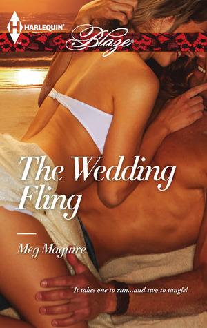 The Wedding Fling (Harlequin Blaze #734) Meg  Maguire