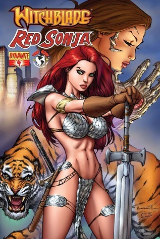 Witchblade / Red Sonja #4 Doug Wagner