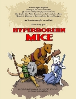 Hyperborean Mice  by  France Sronce