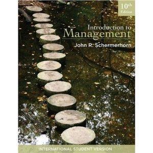 Management, Web/CT Blackboard Course John R. Schermerhorn Jr.