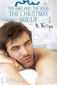 The Christmas Mix-up (The Emo and the Jock, #2)  by  N. Phillips
