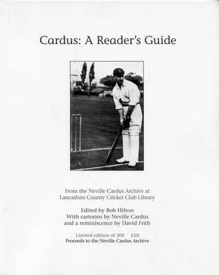 Cardus: A Readers Guide Bob Hilton