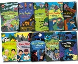 Classic Mystery Stories Collection Ten Books (Mystery of, Vols 1-10) Enid Blyton