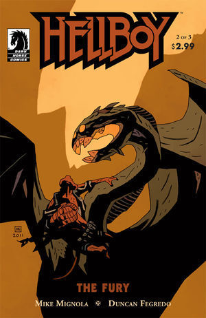 Hellboy: The Fury #2  by  Mike Mignola
