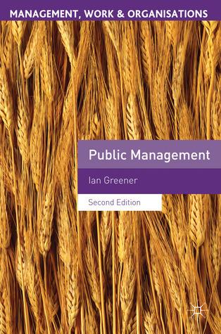Public Management Ian Greener