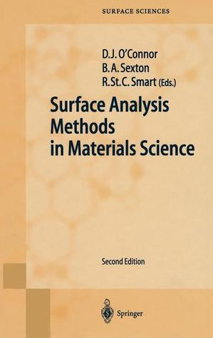 Surface Analysis Methods In Materials Science D.J. OConnor
