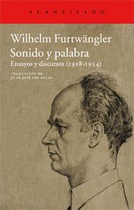 Sonido y palabra Wilhelm Furtwängler