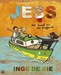 Jess: De boot en de engerd  by  Inge de Bie