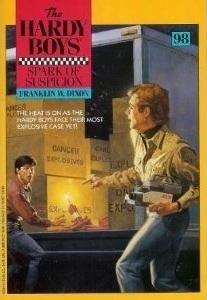 Spark of Suspicion (Hardy Boys, #98) Franklin W. Dixon