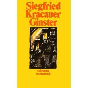 Ginster  by  Siegfried Kracauer