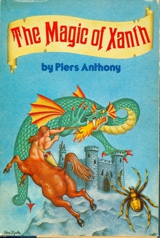 The Magic Of Xanth: Spell For Chameleon, Source Of Magic, Castle Roogna Piers Anthony