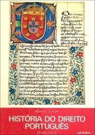 Historia do direito português (1140-1495) Marcello Caetano