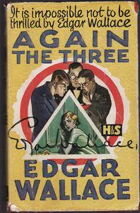 Again The Three Just Men Edgar Wallace