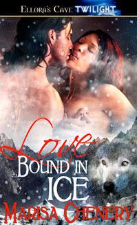 Love Bound in Ice (Werewolf Sentinels #3)  by  Marisa Chenery