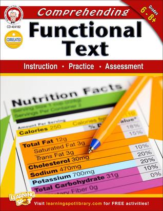 Comprehending Functional Text, Grades 6 - 8  by  Schyrlet Cameron