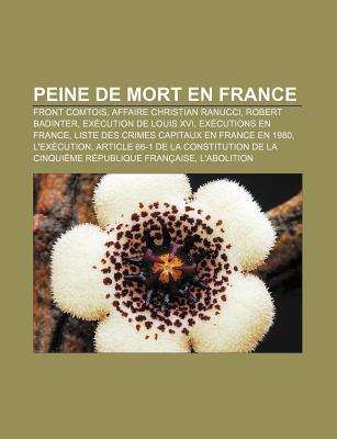 Peine De Mort En France Livres Groupe