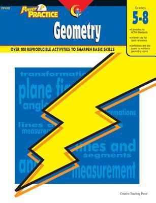 Geometry Power Practice Series  by  Creative Teaching Press