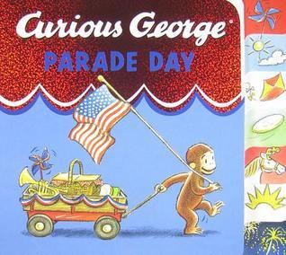 Curious George Parade Day tabbed board book H.A. Rey