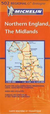 Northern England, the Midlands 502 Michelin