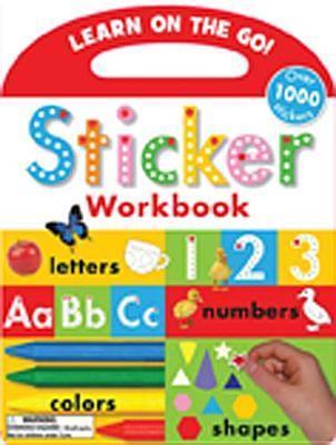 Sticker Workbook  by  Katie Cox