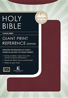KJV Classic Giant Print Center-Column Reference Bible  by  Anonymous