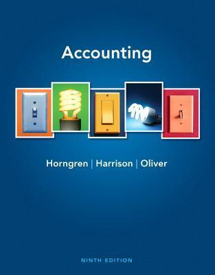 Accounting + new myaccountinglab with pearson etext  by  Charles T. Horngren