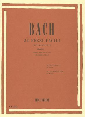 23 Easy Pieces: Piano Solo  by  Johann Sebastian Bach