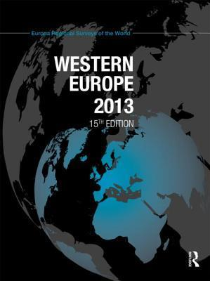 Western Europe 2013  by  Europa Publications