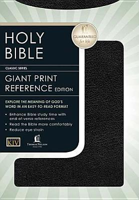 KJV Giant Print (13 point type) Personal Size Reference Holy Bible  by  Anonymous