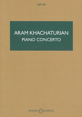 Piano Concerto: Study Score  by  Khachaturian Aram
