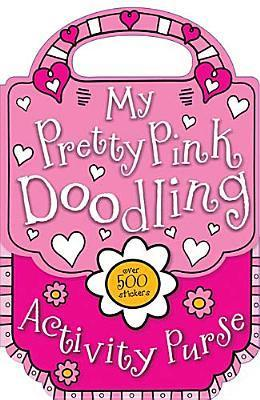 My Pretty Pink Doodling Activity Purse  by  Charlotte Stratford