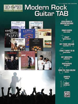 Modern Rock Guitar Tab Alfred A. Knopf Publishing Company, Inc.