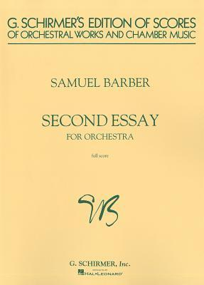 Second Essay for Orchestra: Study Score Samuel Barber