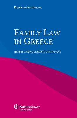 Family Law in Greece  by  Dimitriadis