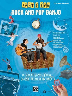 Rock and Pop Banjo: 12 Great Songs from Classic to Modern Rock  by  Andrew DuBrock