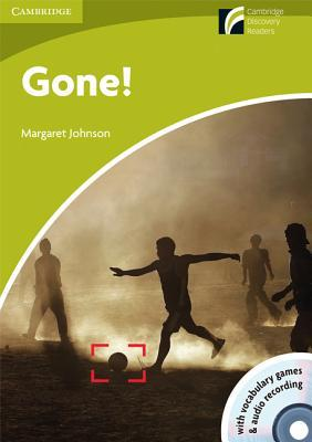 Gone! Starter/Beginner American English Book and Audio CD Pack [With CDROM]  by  Margaret Johnson