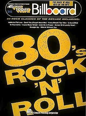 E-Z Play Today: Billboard Top Rock n Roll Hits of the 80s, Vol. 345 Various