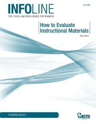 How to Evaluate Instructional Materials  by  Diane Valenti