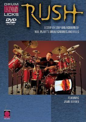 Rush Drum Licks  by  Jamie Borden