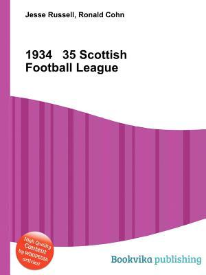 1934 35 Scottish Football League  by  Jesse Russell