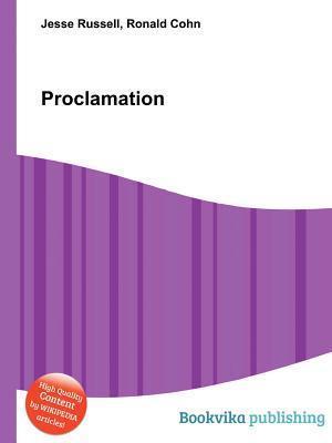 Proclamation Jesse Russell